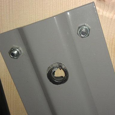 Сломан 582 механизм для шкаф-кровати пластина крепления верхней оси