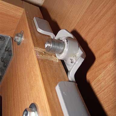 Сломан 582 механизм для шкаф-кровати резьба оси