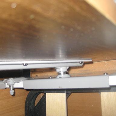 Поворотная ось выходит из пластины 582 механизм для шкаф-кровати