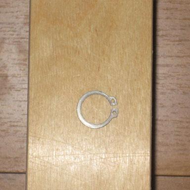 582 механизм для шкаф-кровати - стопорное кольцо поворотной оси